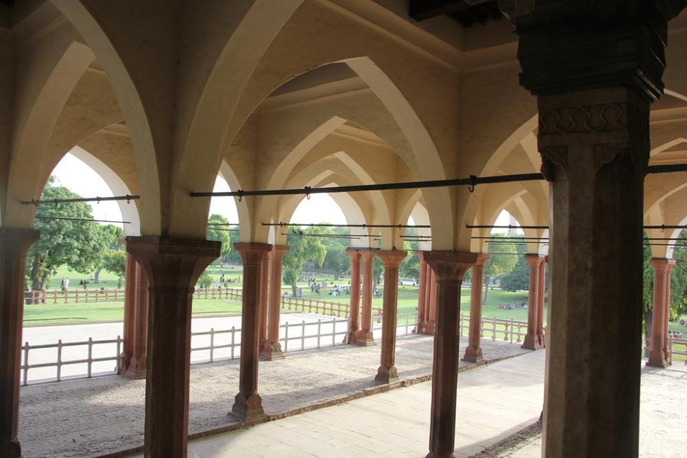 Lahore fort public lawns