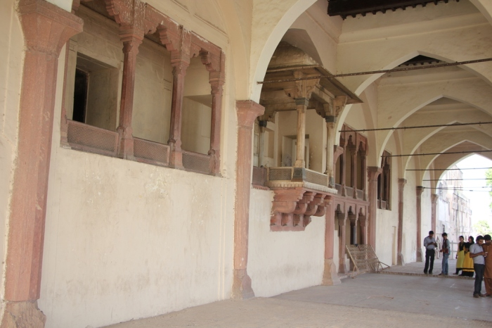 Lahore fort terrrace